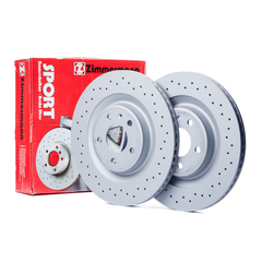 Zimmermann brake system disc brake brake disc sport